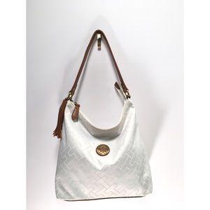 Tommy Hilfiger Logo White Hobo/ Shoulder Bag ✨💙✨